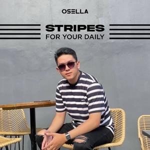 Use stripes for a fun and trendy look today.  📷 @tomfao . . . Koleksi Osella bisa kamu dapatkan secara offline di Matahari Dept Store dan showroom terdekat di mall kesayangan kamu atau secara online di: linktr.ee/OSELLA.SHOPNOW