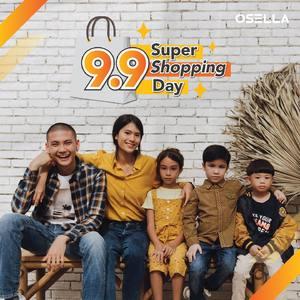 Osella 9.9 Super Shopping Day is here!!  Nikmati berbagai promo spesial untuk kamu cuma di 9.9 Super Shopping Day! Info dan detail lebih lanjut langsung klik link pada bio ya, Osella Friends! 😍✨