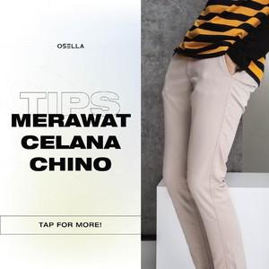 Celana Chino merupakan salah satu product best seller dari Osella Man, tapi kamu sudah tau cara merawatnya supaya lebih tahan lama? Osella ada sedikit tips buat kamu nih!   #osella #osellaman #chinopants