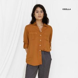 Earth tone is a happy color. Wear it! . . . . Koleksi Osella bisa kamu dapatkan secara offline di Matahari Dept Store dan showroom terdekat di mall kesayangan kamu atau secara online di: linktr.ee/OSELLA.SHOPNOW