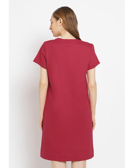 Osella Baju Perempuan Kemeja lengan panjang garis merah. Rp. 244 9f74ebc63a