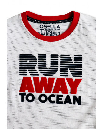 OSELLA Baju Perempuan T-shirt Navy