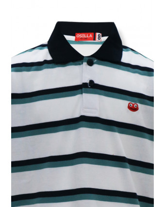 OSELLA Baju Anak Laki-Laki T-Shirt Stripe Raglan