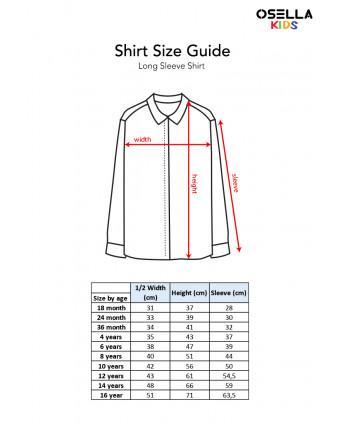 OSELLA Baju Anak Laki-Laki T-Shirt Germany White