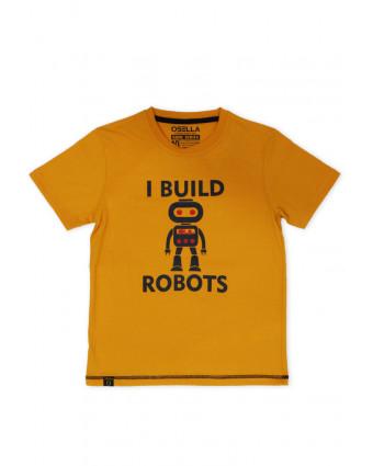 OSELLA Baju Pria T-Shirt Stay Positive Navy