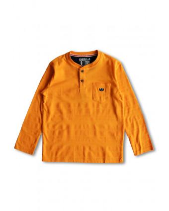 OSELLA Baju Pria T-Shirt Keep Your Mind Black