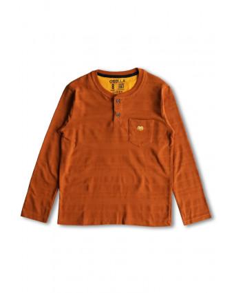 OSELLA Baju pria Polo shirt Teal Green