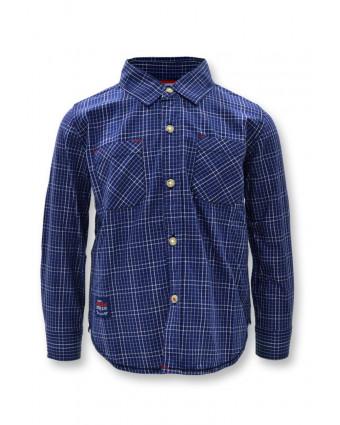 Osella Baju Anak Laki Laki Polo Shirt Polos Navy